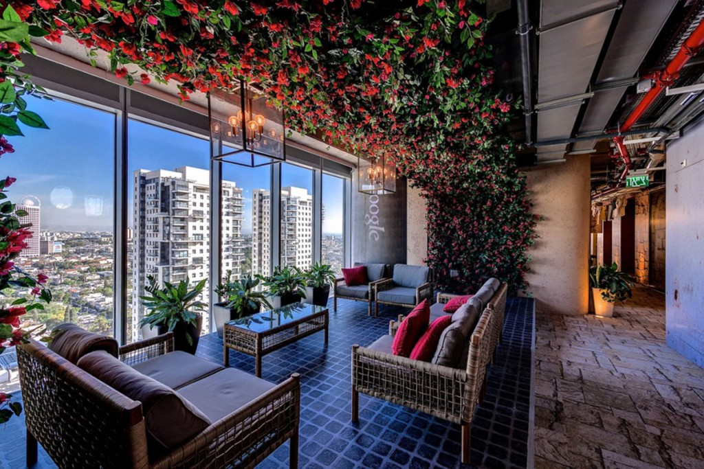 google tel aviv oturma odası