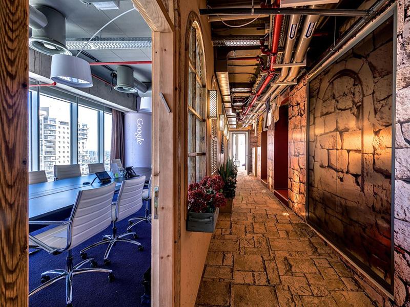 google tel aviv toplantı odası
