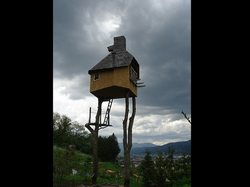 kazıklı ev