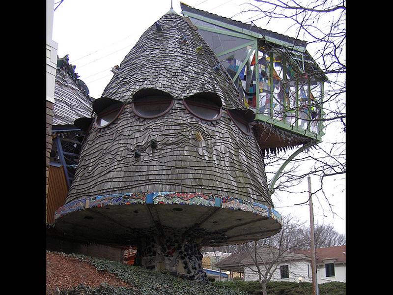 mantar ağaç ev