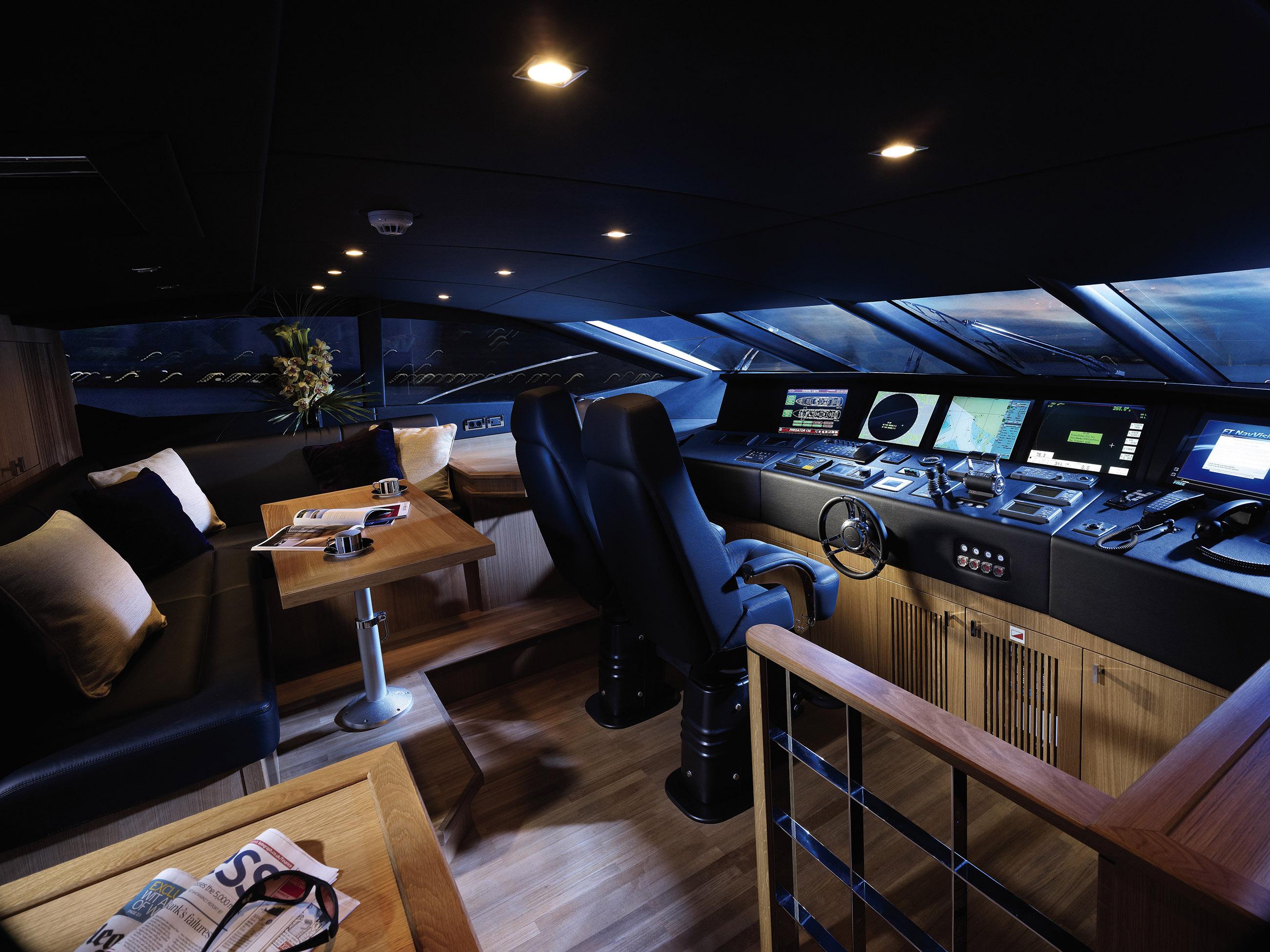 yat kaptan odası