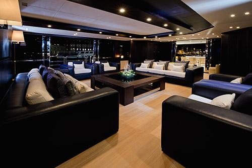 yat salon tasarımı