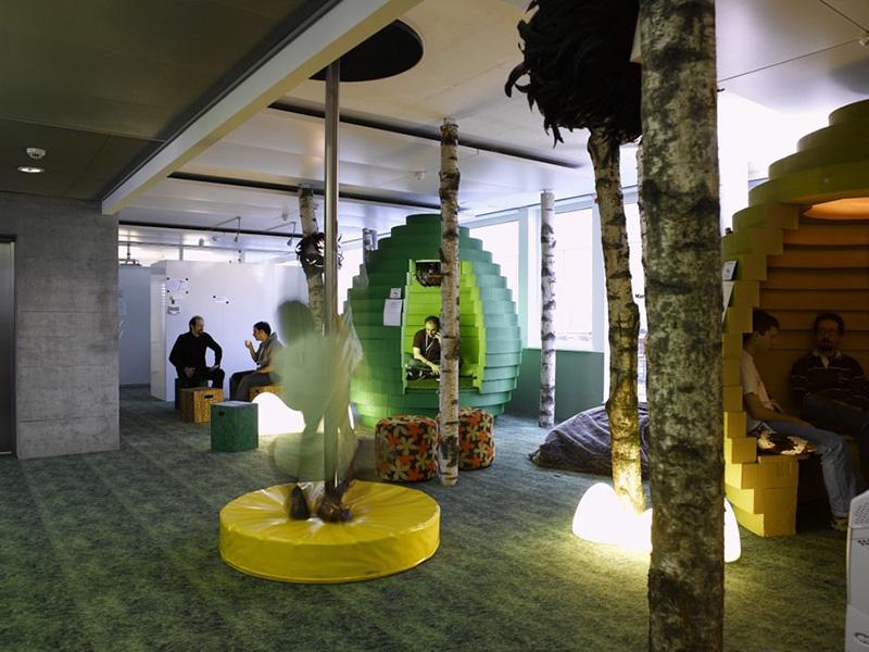 google rahatlama odaları