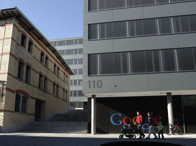 google zürih dış cephe