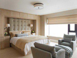 sade yatak odası