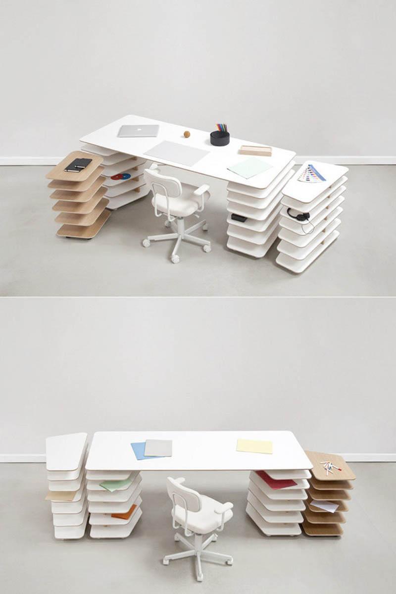 çok fonksiyonlu çalışma masası