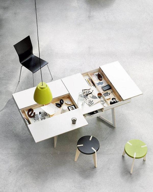 özel bölmeli masa resmi