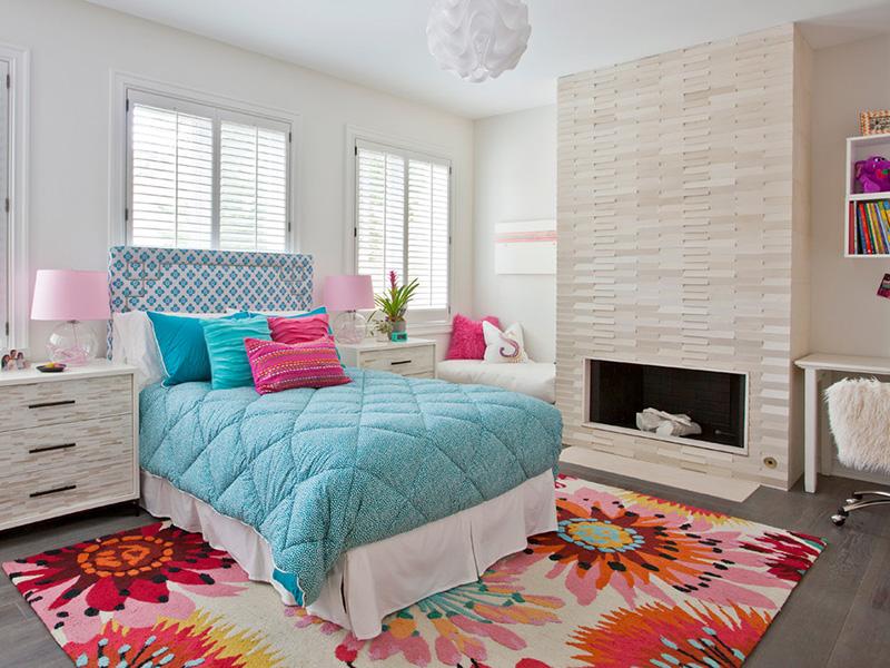 şirin yatak odası resmi