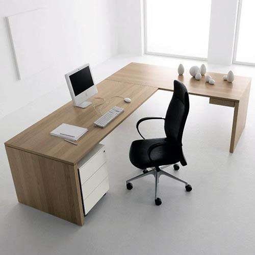 L çalışma masası