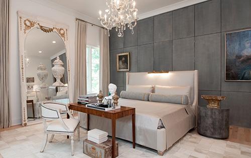 klasik yatak odası resmi
