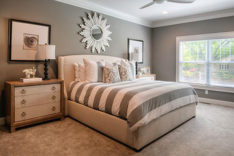 sade yatak odası resmi