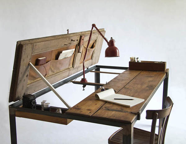 tarihi çalışma masası