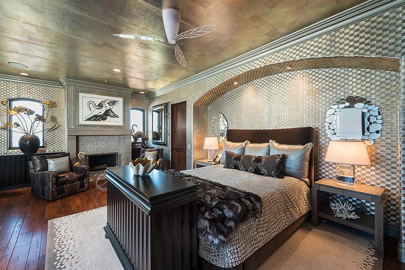 uçuk yatak odası resmi