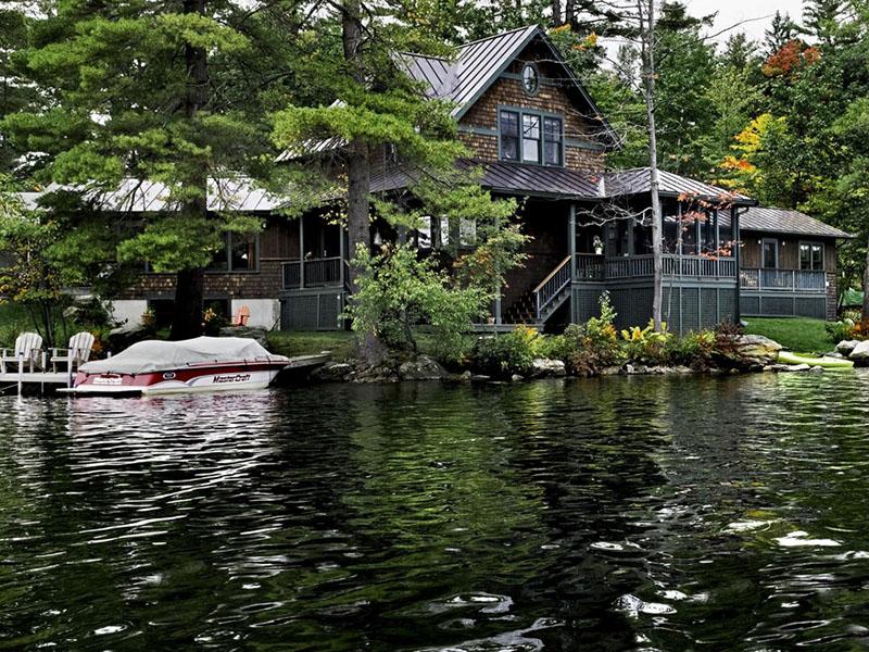 göl evi manzarası