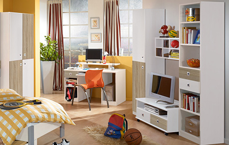 genç çocuk odası resmi