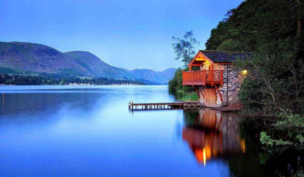 harika göl evi