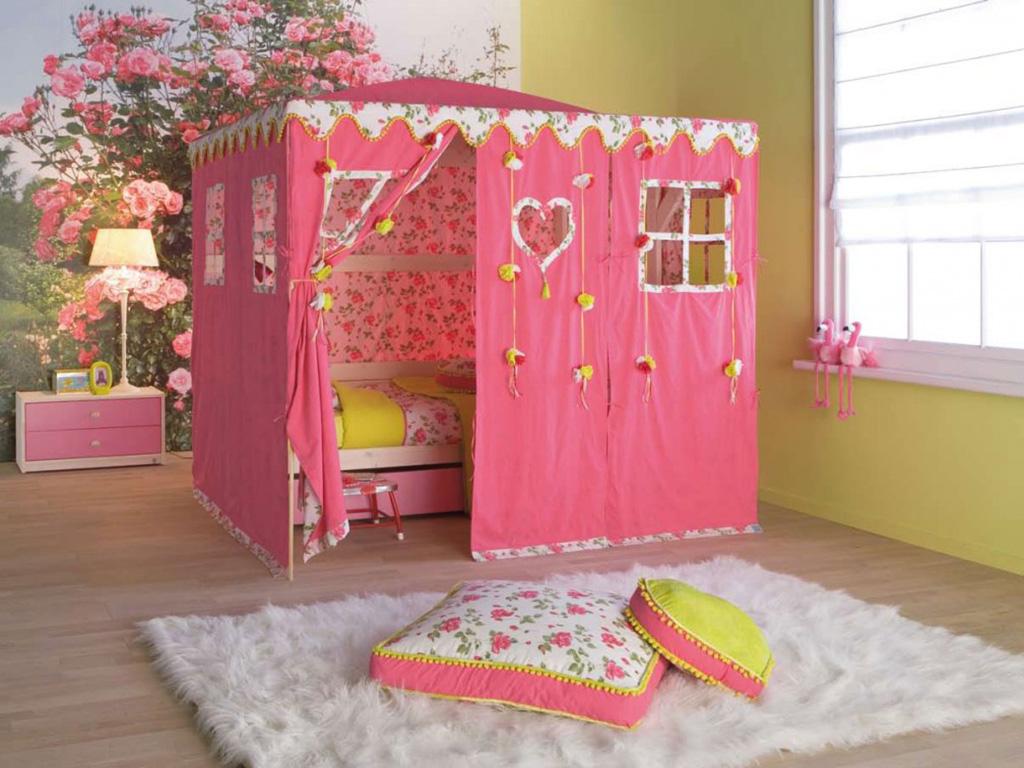 kız çocuk odası resmi