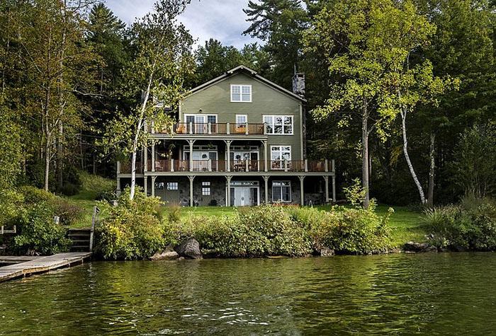yeşil göl evi