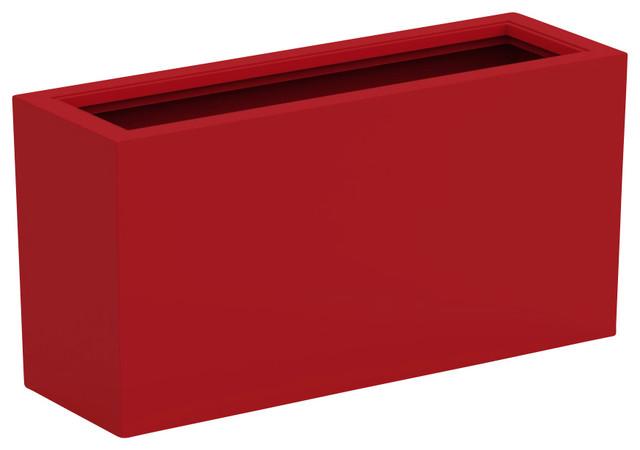 Kırmızı saksı