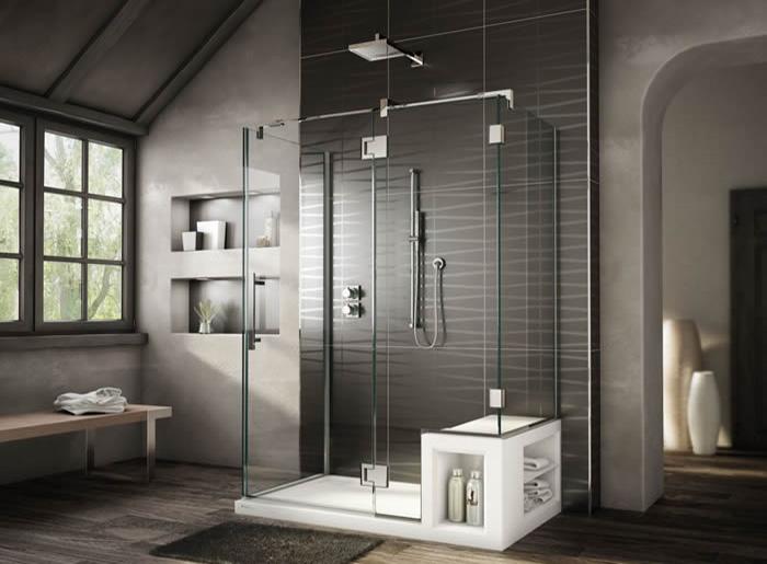 Modern duşluk