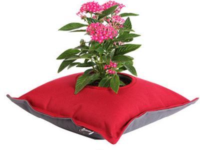 Yastık saksı tasarımı
