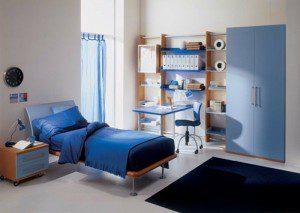 gece mavisi genç odası