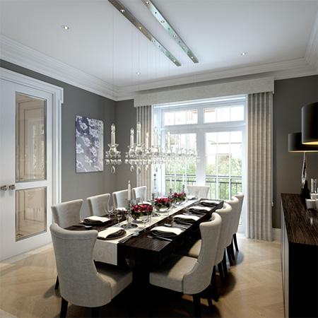 İngiliz yemek odası modeli