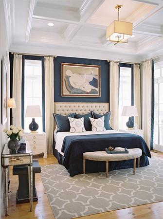 Şık yatak odası tasarımı