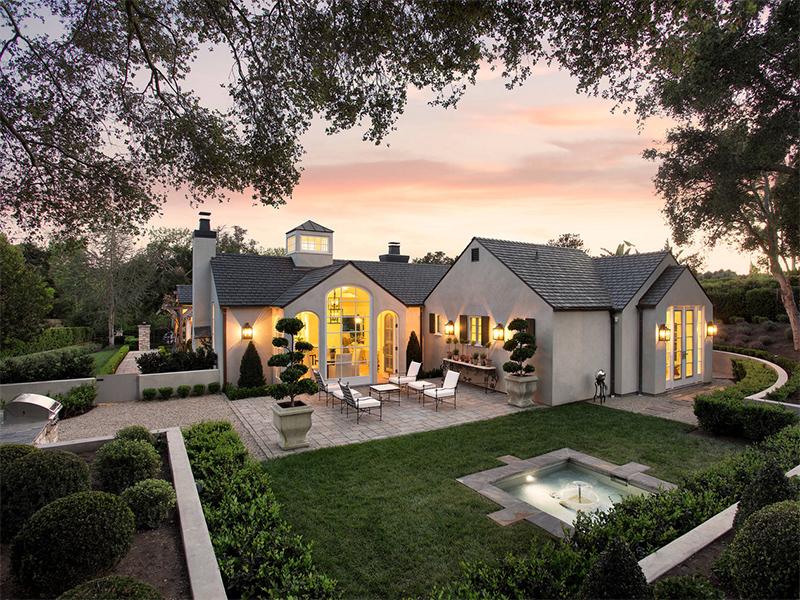 Bahçeli ev modeli