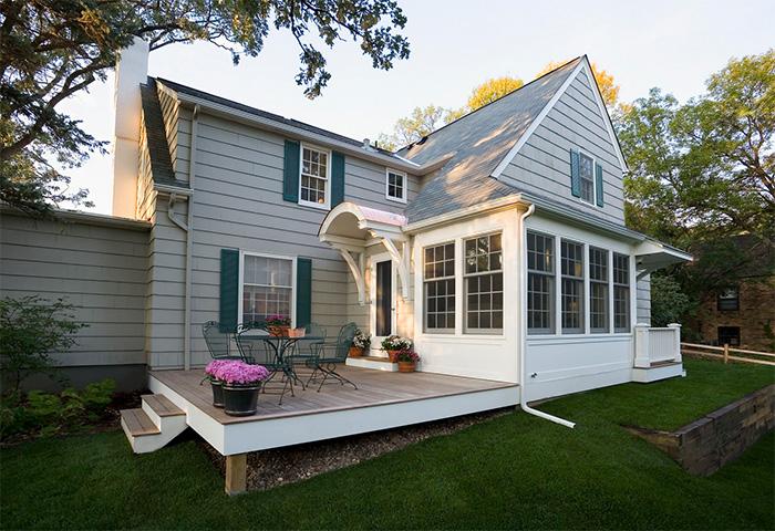 Bahçeli ev tasarımı