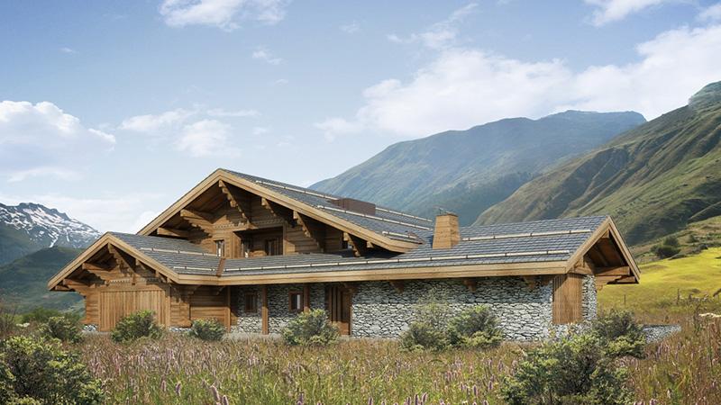 Dağ evi fotoğrafı