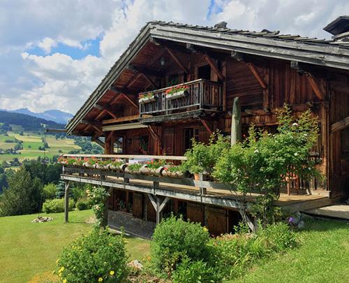 Doğal dağ evi