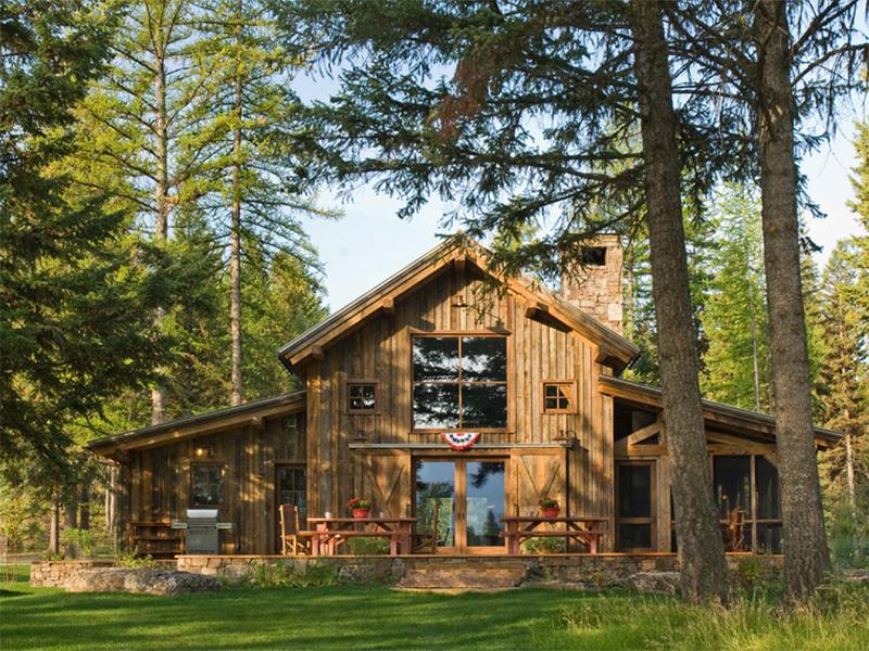 Doğal tasarımlı ev