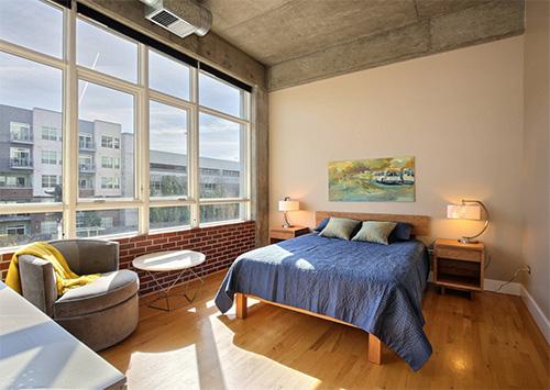Endüstriyel yatak odası tasarımı