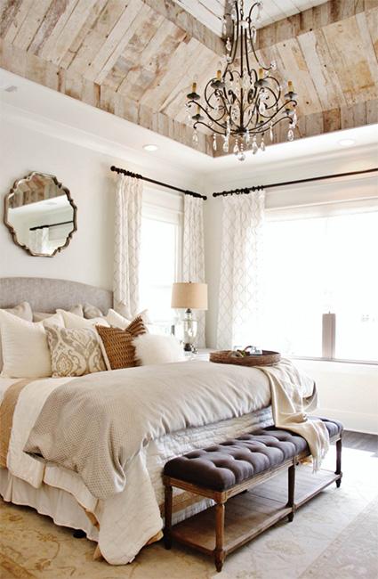 Eskitme yatak odası tasarımı
