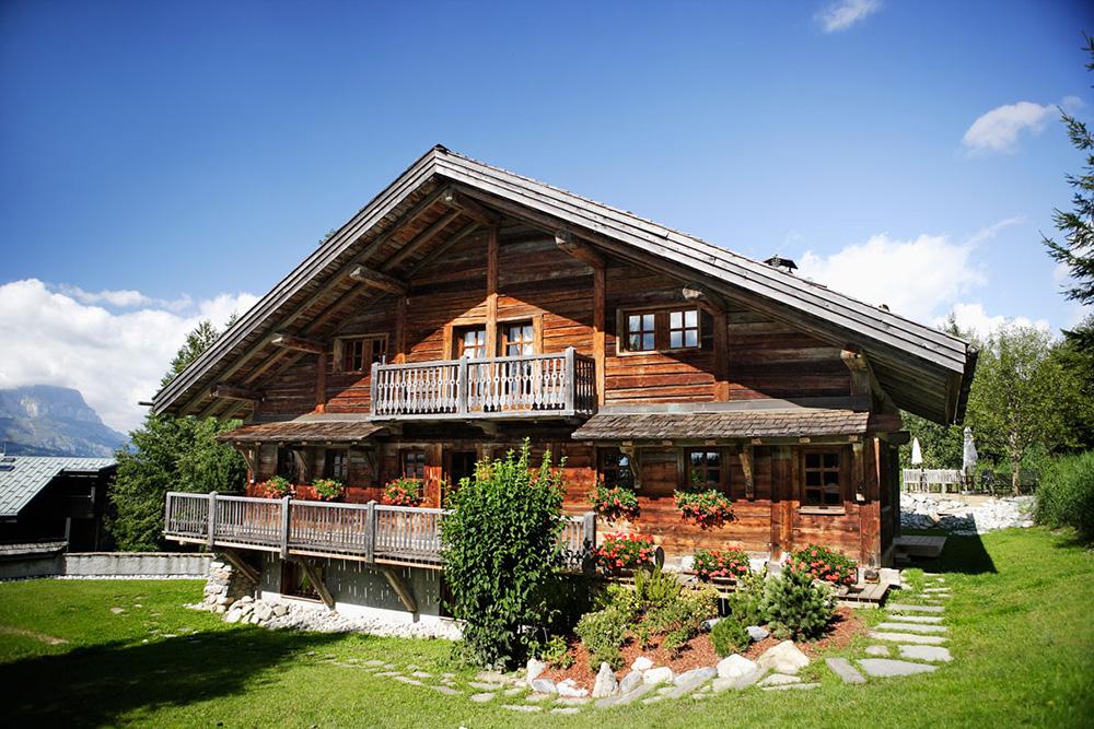 Güzel dağ evi resimleri