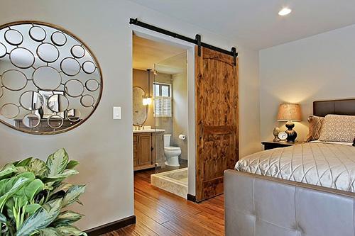 Güzel yatak odası kapısı