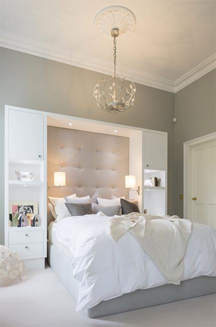 Güzel yatak odası tasarımı