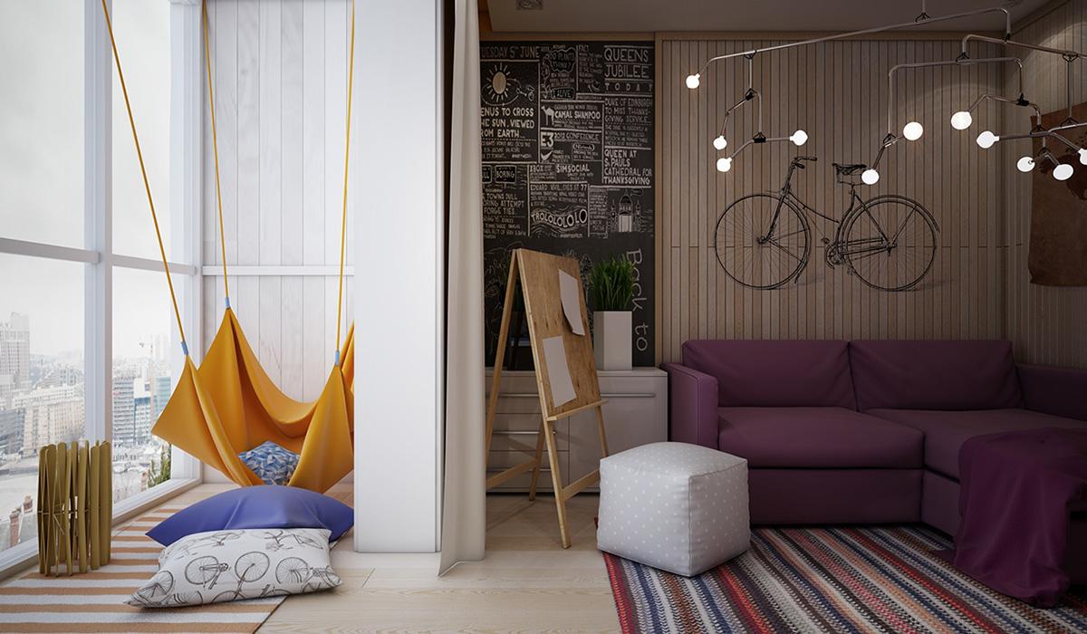 Genç bayan odası tasarımı