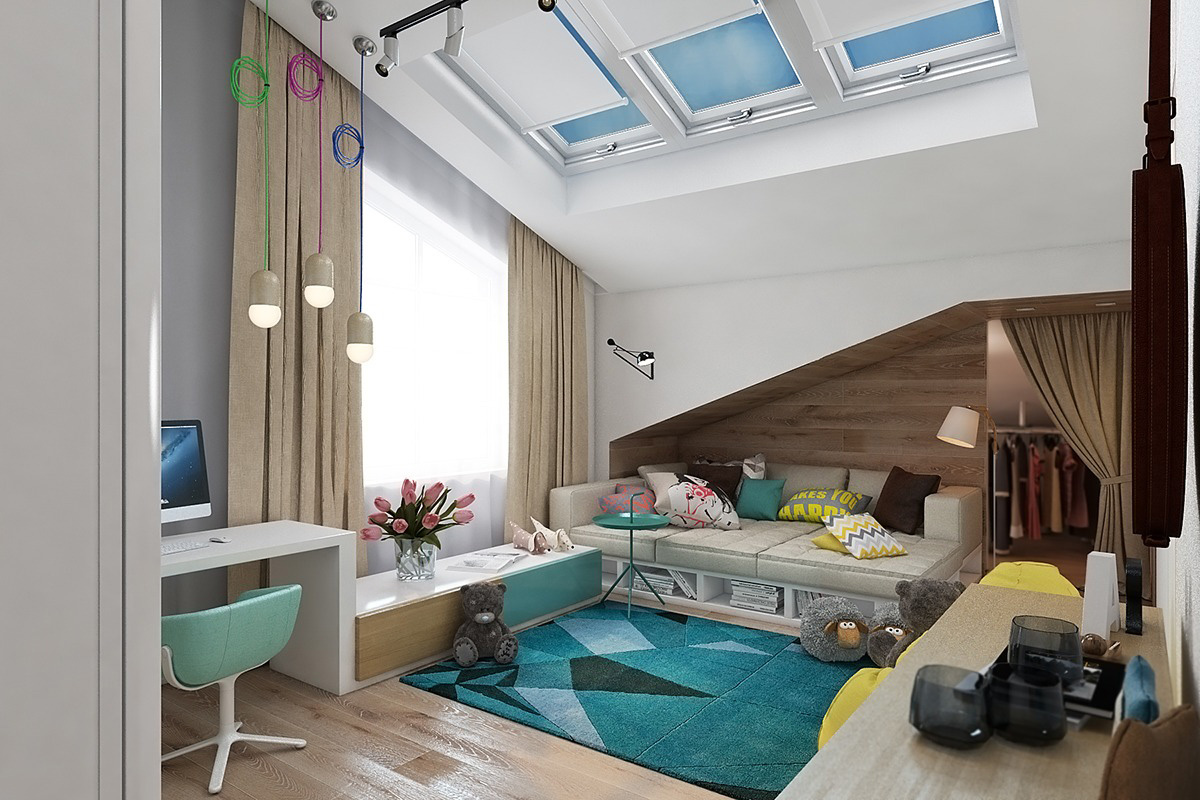 Genç kız odası tasarımı