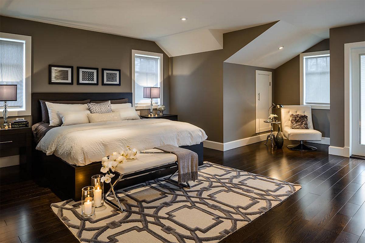 Harika yatak odası tasarımı