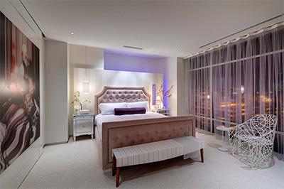 Işıklı yatak odası tasarımı