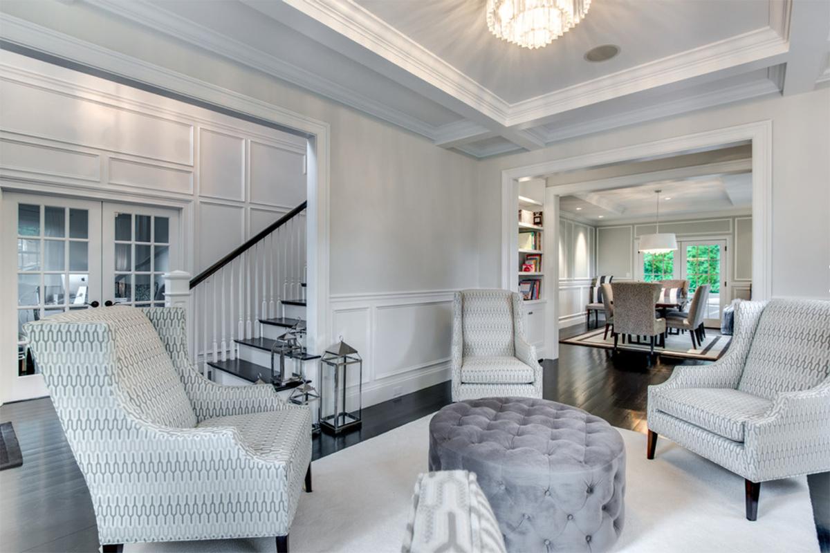 Klasik oturma odası modeli