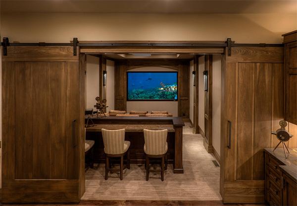 Klasik yatak odası kapısı