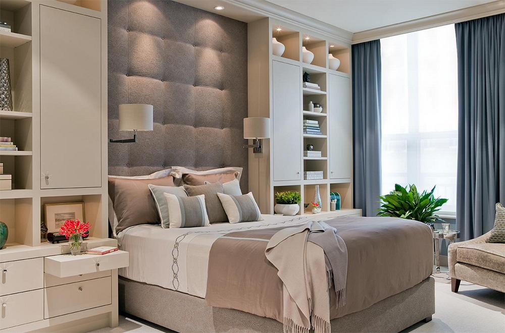 Konforlu yatak odası tasarımı