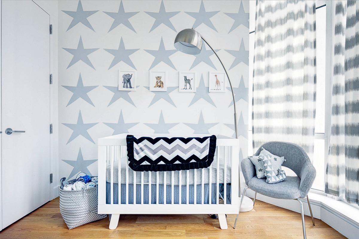 Sadelik ve kaliteden ödün vermeyen müthiş bebek odası tasarımı