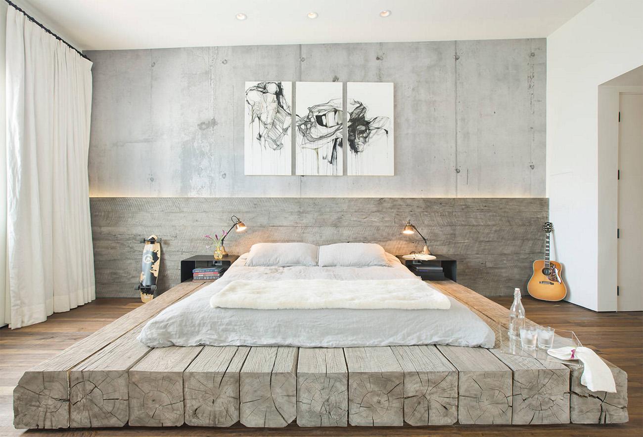 Müthiş yatak odası tasarımı