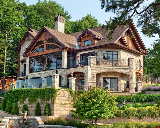 Modern dağ evi