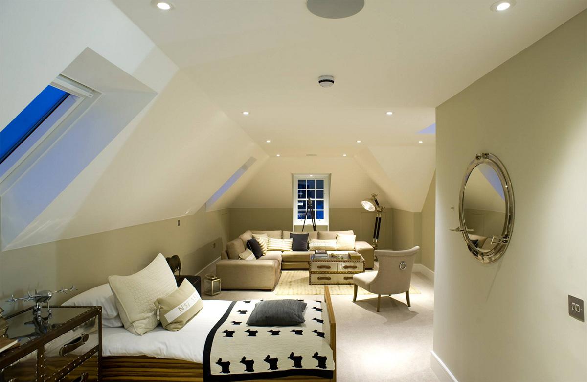 Modern genç odası tasarımı