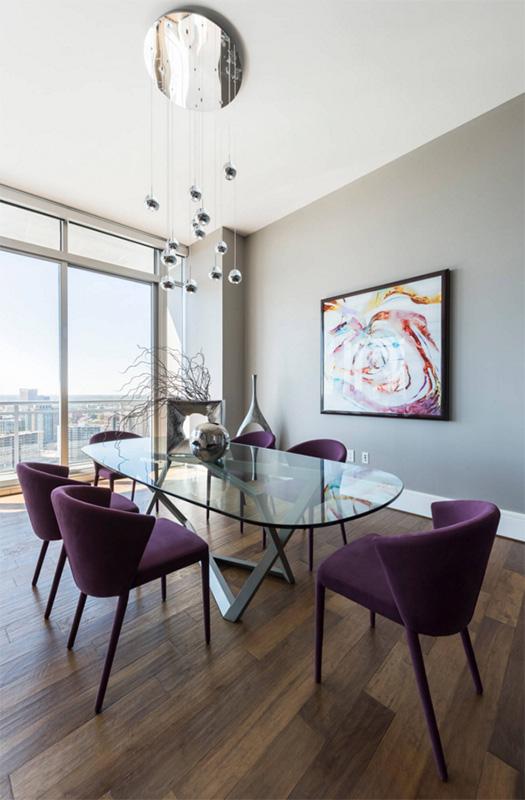 Modern yemek odası modeli